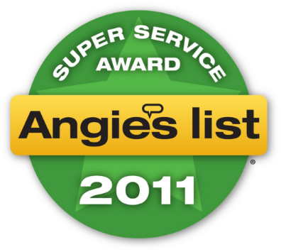 Angie's List 2011 Award Badge